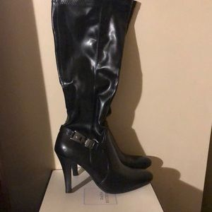 Dana Bachman tall heeled boot
